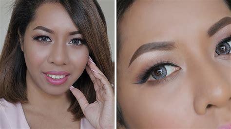 tutorial eyeshadow indonesia everyday makeup tutorial indonesia makeup untuk pemula
