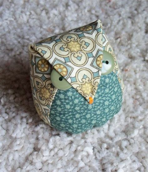 owl pincushion template quiltscapes can you many pincushions