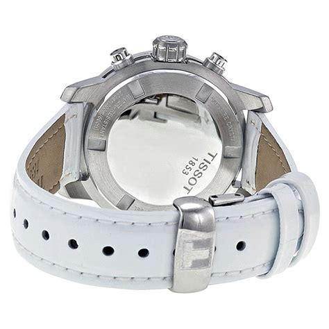 Tissot Prc200 Silver White tissot prc200 chronograph silver white leather t0552171603201 img3