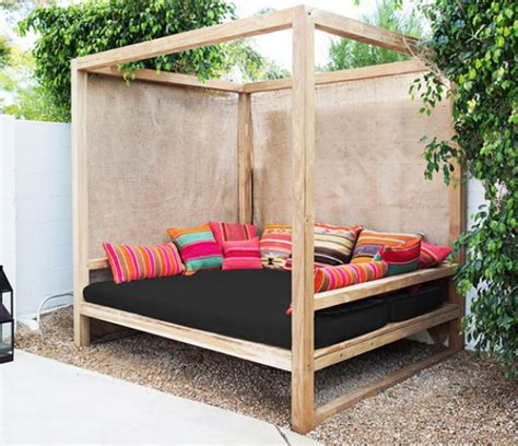 outdoor patio bed daydreaming outdoor beds centsational style