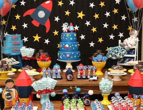 space themed decorations 25 birthday theme ideas squared