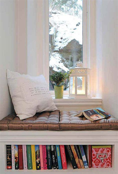 cozy  warm winter reading nooks