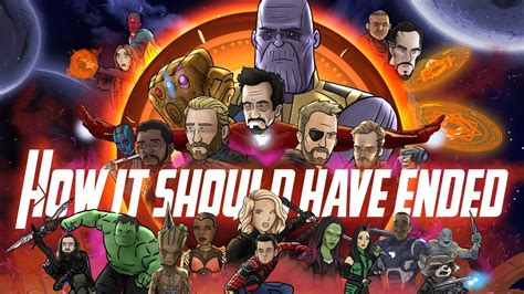 avengers infinity war ended animated