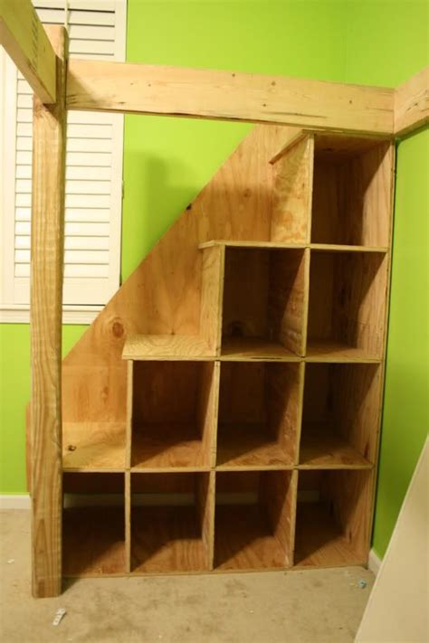 How To Build Bunk Bed Stairs Build Your Own Bunk Bed With Stairs Woodworking Projects Plans