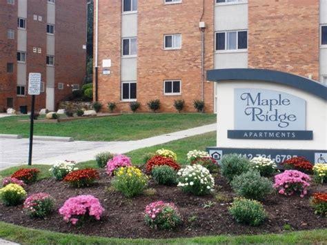 Garden Ridge Pittsburgh Pa by Maple Ridge Rentals Pittsburgh Pa Apartments