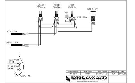 ibanez gsr205 wire diagram