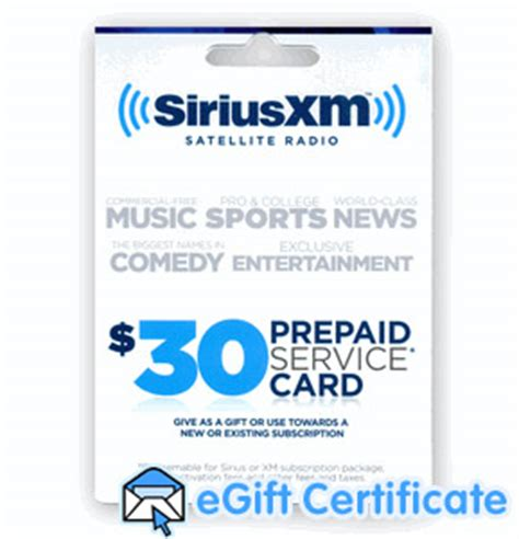 Prepaid Gift Cards For International Use - instant sirius xm radio prepaid card no shipping