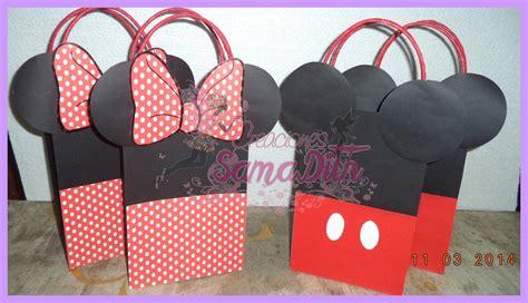 modelos de sorpresas de mickey mouse imagui como hacer bolsa sorpresa mickey y minnie cartulina bag