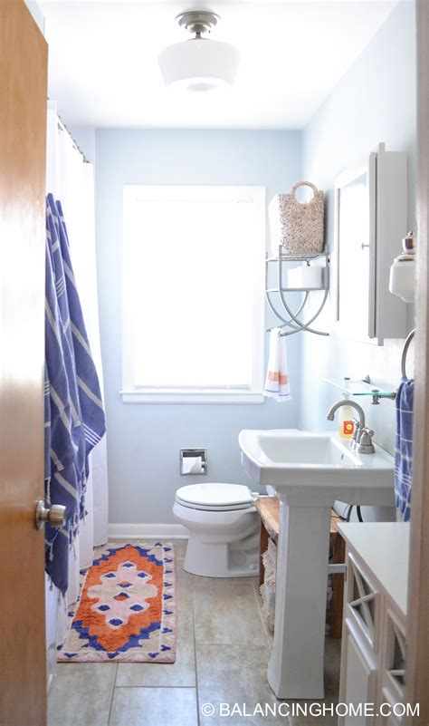 ideas for a bathroom small bathroom ideas clever organizing and design ideas balancing home