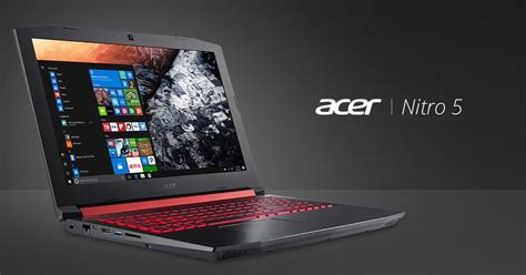 Laptop Acer Nitro 5 acer nitro 5 gaming notebook with amd processor launching