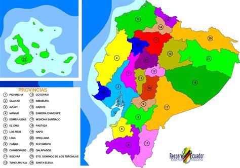 imagenes mapa html mapa pol 237 tico de las provincias del ecuador mapas