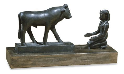 the cult of the apis bull the history pharaoh kneeling before the apis bull biblical