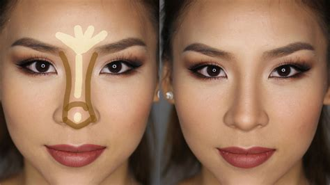 How To Make A Big Nose Look Smaller With Makeup