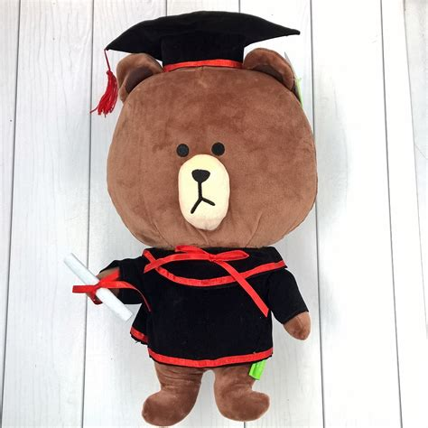 Boneka Hello Sailor brown pita merah mymikko