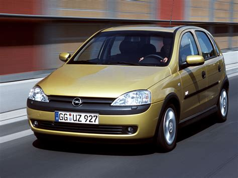 opel corsa c 1 6 i opc 175 hp technical specifications