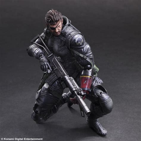 Metal Gear Solid Phantom Venom Snake Play Arts play arts venom snake sneaking suite version metal