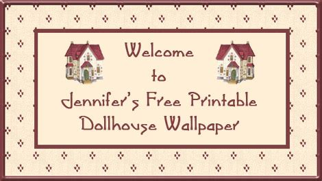 dolls house wallpaper printable free printable dollhouse wallpaper categories