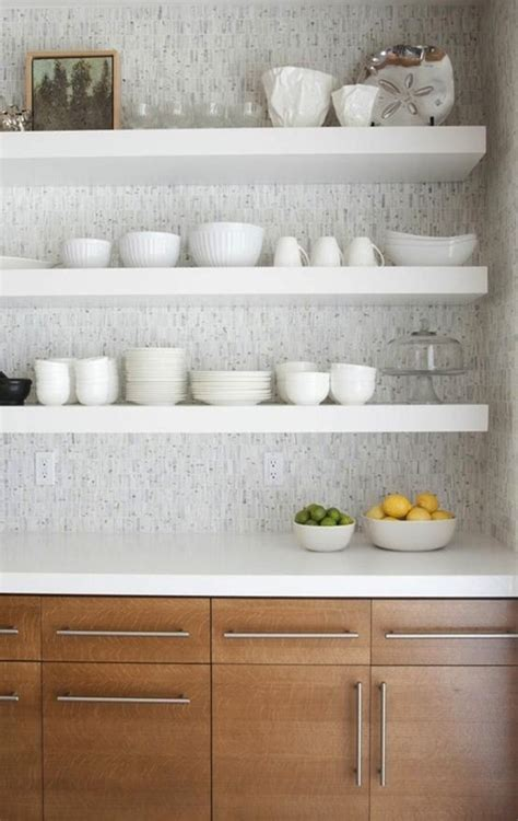 Unique Kitchen Backsplash Ideas by 30 Great Floating Shelves Ideas