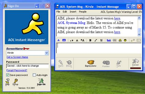 a farewell to aim aol instant messenger shutting in