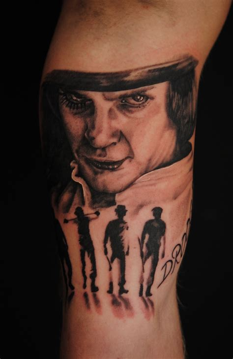 clockwork orange tattoo clockwork orange by robert franke on deviantart