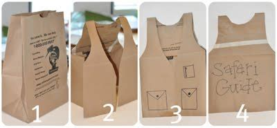 How To Make A Paper Bag Vest - 10 costumes for imaginary play
