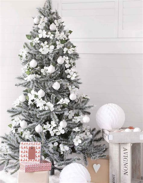 decorated white tree ideas top 40 white decorations ideas