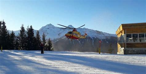 di valle camonica sondrio gran lavoro degli angeli soccorso sulle piste da sci