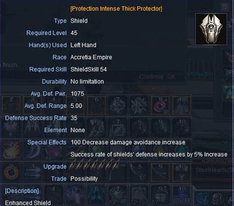 membuat game rf online cara membuat shield protection intense tipe c di rf online