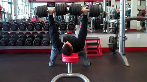 Db Bench Press 120 S Not At Planet Fitness Youtube