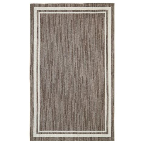 10 ft rug border loop taupe 8 ft x 10 ft area rug 511869