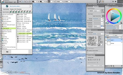 corel painter pattern brushes corel painter 17 adds new brushes gradient tools and