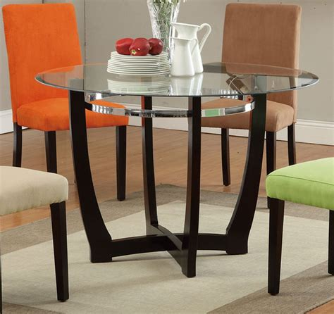 poundex f2348 brown glass dining table a sofa