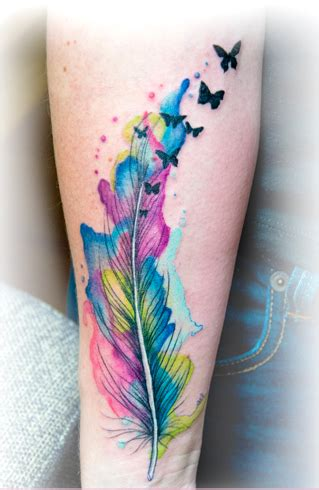 feather tattoo which one should you get