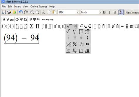 simbolo raiz cuadrada en word escribe ecuaciones matem 225 ticas con varios s 237 mbolos neoteo