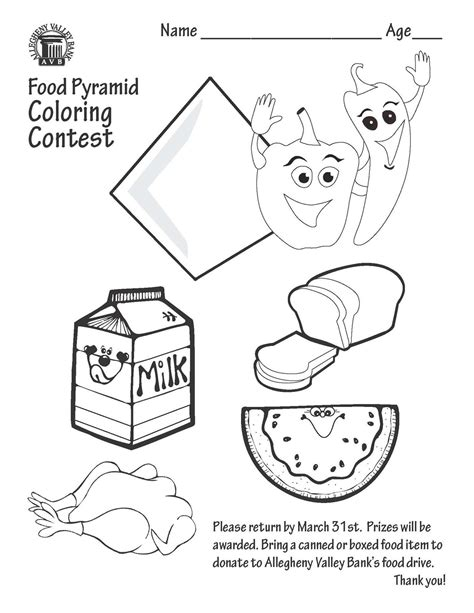 food pyramid coloring page food pyramid coloring coloring pages