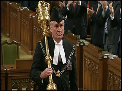 Sergeant At Arms Speech Sle parliamentary kevin vickers says he s touched by