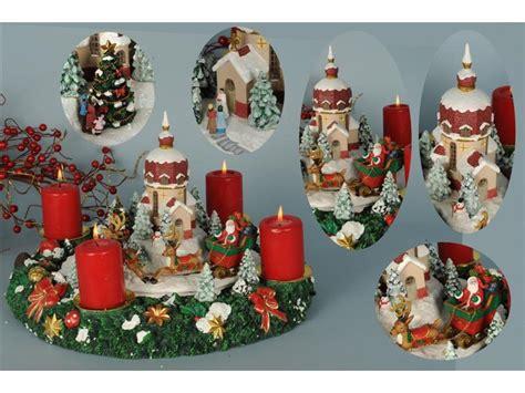 centro tavolo natalizio centro tavola natalizio paesaggio natalizio carillon