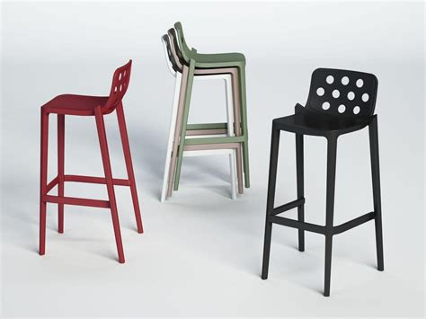 plastic stackable bar stools stackable barstool made of polymer for bars and hotels