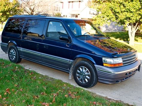 1992 plymouth voyager overview cargurus 1994 plymouth grand voyager overview cargurus