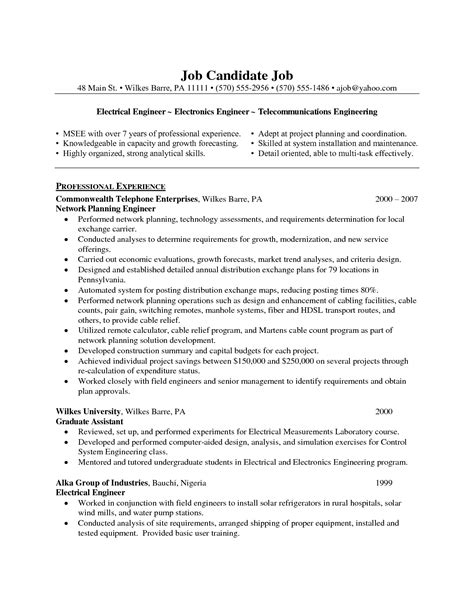 cover letter for telecom engineer images cover letter sle