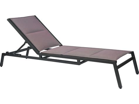 aluminum sling chaise lounge woodard palm coast padded sling aluminum stackable