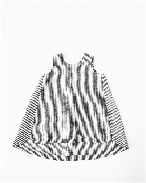 Delia Stripe Tunic Grey image of fannie tunic ticker stripe 채운