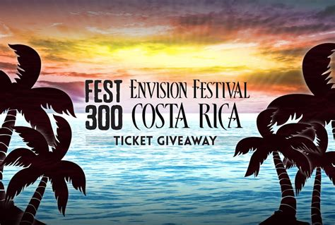 Sweepstakes Alerts - sweepstakes alert win tickets to envision festival in costa rica everfest