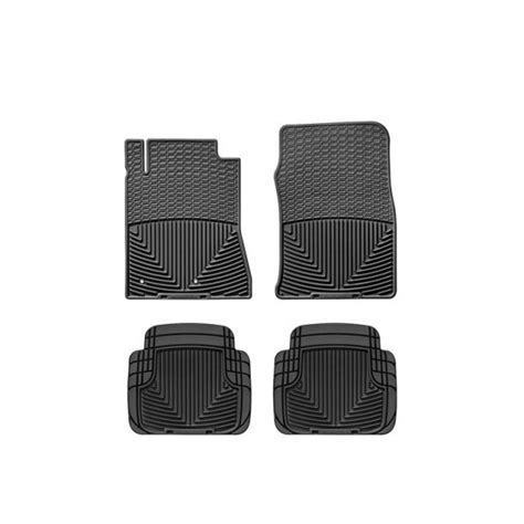 2010 2014 mustang weathertech all weather full floor mats black w178 w50