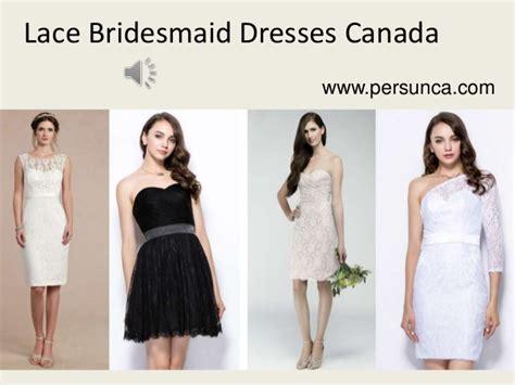 Bridesmaid Dresses Canada Cheap - cheap lace bridesmaid dresses canada 100