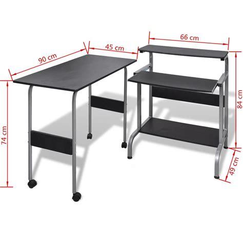 table de bureau but acheter table de bureau r 233 glable pour ordinateur