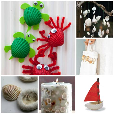 and craft for ideas 37 sea shell craft ideas ted s