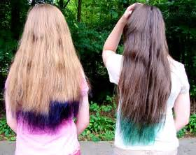 colored tips hair lexalex purple hair tips
