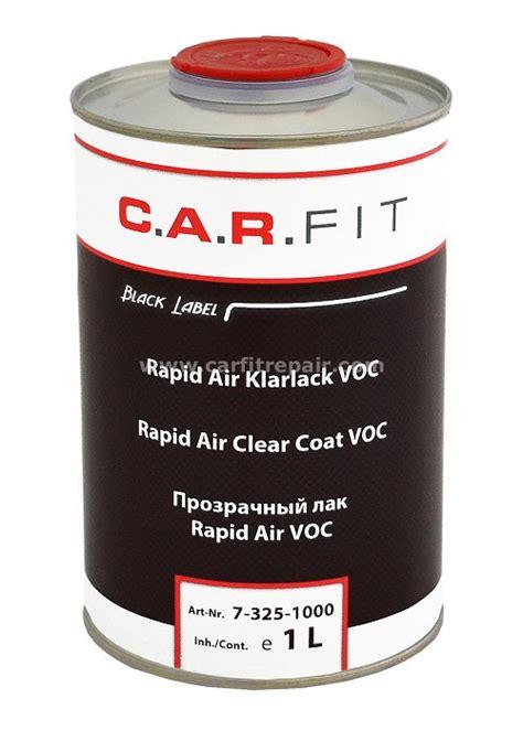 Lackieren Klarlack by Rapid Air Klarlack Voc August Handel Webshop