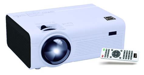 rca rpj p lcd home theater projector   black